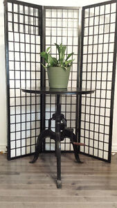 Cafe Bistro Table - Solid industrial iron