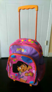 Dora Bag Pack with wheels