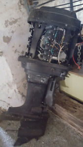115 HP Mercury Parts Motor, Stainless Prop, Control, Trim, Tilt