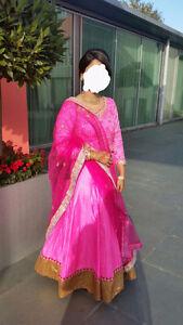 Bollywood Barbie Style Silk Lehnga/ Anarkali