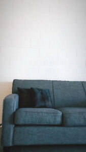 VERY CLEAN AND WELL CARED FOR COUCH