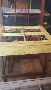 Set of 2 High Table & Mirror