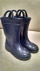 HANDLE IN RAIN BOOTS TODDLER SIZE 8