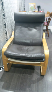 Poang reclining chair