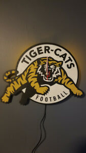 Hamilton Tiger Cats Clock