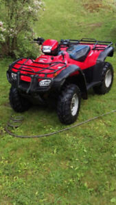 Honda 500 Rubicon Excellent Condition