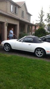 1990 MIATA MX5  - LOW MILEAGE - MUCH LOVED AND PAMPERED