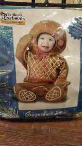 12-18 month gingerbread man costume