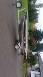 Lund WC 14 aluminum fishing boat