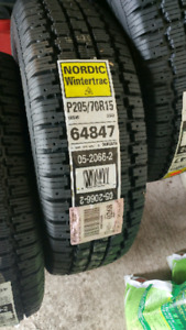 Tire 205/70r15 goodyear nordic wintertrack cloutable
