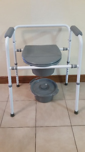 Homecare Commode Adjustable- 3 months old
