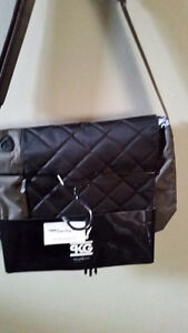 Laptop Bag.  quilted. Can also be used as overnight bag.