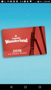 Canada's Wonderland 2018 Season Pass
