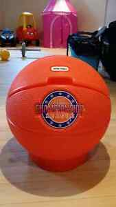 Little Tikes basketball toy storages