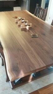 Beautiful Live Edge Table, and Live Edge Furniture!