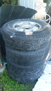 6bolt gm rims and tires 265/70/16