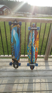 Two long boards for sale.