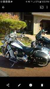 Harley Davidson softail looking for a better looking owner