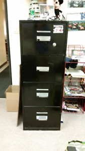 Filing Cabinet/Safe  Fire Proof Heavy Metal 4 drawer with key
