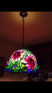 Beautiful Vintage Flower Chandelier