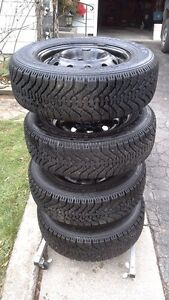 4 Winter Tires On Rims Peterborough Peterborough Area image 1