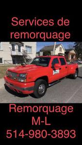 remorquage ml 65$ 5149803893  longueuil et scrap