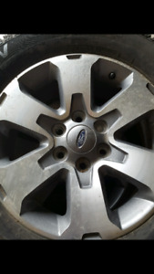 Ford f150 snow tires and FX4 rims