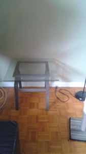 $25 GLASS COFFEE TABLE SET MIDLAND