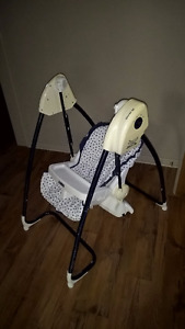 Fischer Price Swing N Meals high chair and swing combo