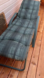 Folding lawn chair - reduced