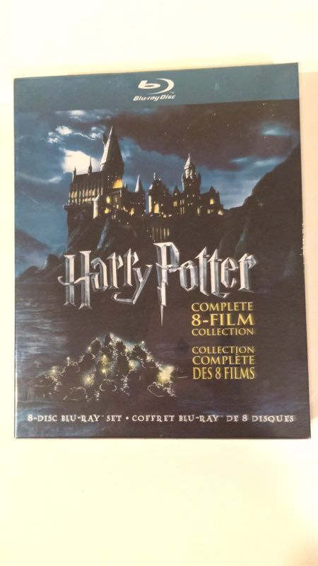 NEW Harry Potter: Complete 8-Film Collection (Blu-ray, 2011, 8-Discs) BLU-RAY