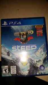 STEEP and other games for sale