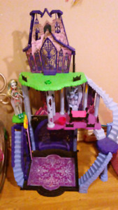 Monster High castle doll house for sale