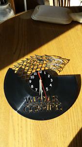 Winter is Coming Clock