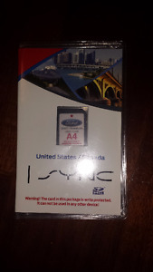 Carte SD A4 pour navigation SYNC Ford  / Lincoln