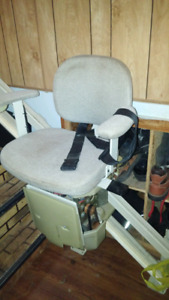 TRADE SAVARIA STAIR LIFT+EXTRA RAILS FOR FIREWOOD