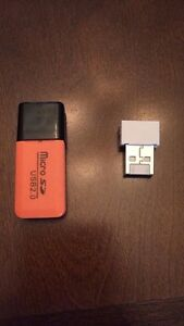 Micro sd usb and usb wifi adapter