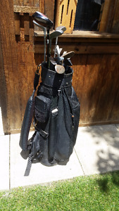 Golf clubs rt. handed
