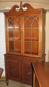 Duncan Phyfe complete set-Table, 6 Chairs, Sideboard & Hutch