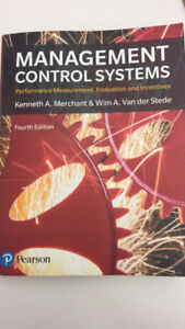 Management Control Systems - Fourth Edition