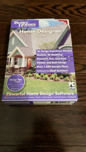 Better Homes and Gardens Home Designer Suite PC Software