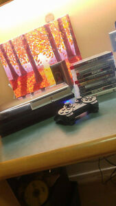 PS3 160 GB with games Kingston Kingston Area image 1