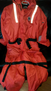 Size xxl Survival Suit (worn 2 times like new)