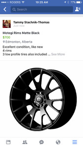 Motegi Rims Matte Black