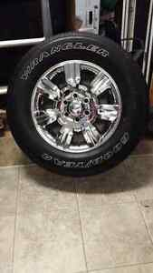 4 P275-R-18 tires and Ford factory rims