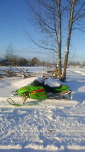 Arctic Cat Zr 800 CCE low km