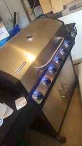 5 BURNER BRINKMANN BARBEQUE STAINLESS STEEL LED