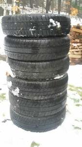 6 pneus 4 saisons 155-80R13