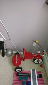 Red toddler trike