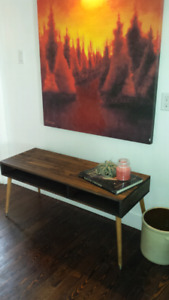 New Mid Century Modern Coffee Table